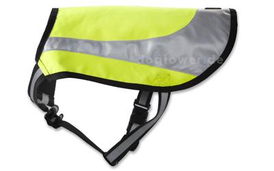 Hurtta Lifeguard Twilight Hundeweste neongelb
