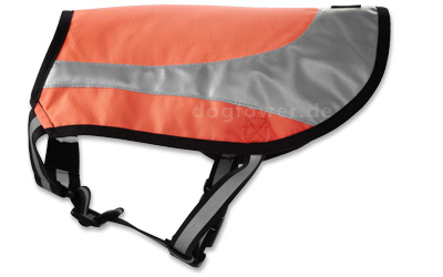 Hurtta Lifeguard Twilight Hundeweste, neonorange