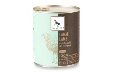 Lila Loves It Hundefutter Bio-Lamm mit Süßkartoffel Sensitiv