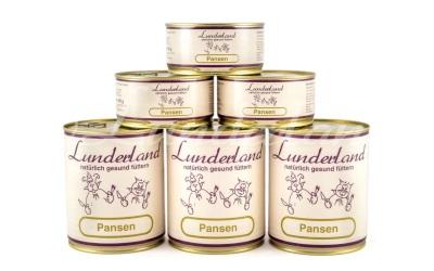 Lunderland Nassfutter Pansen