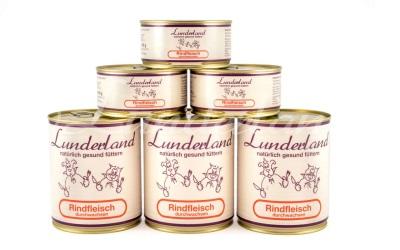 Lunderland Nassfutter Rindfleisch durchwachsen