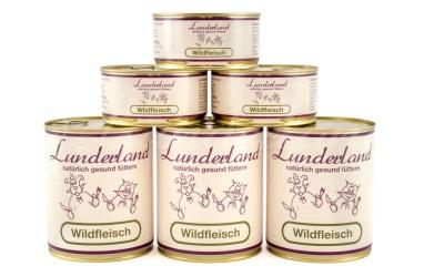Dosenfleisch Lunderland Wildfleisch