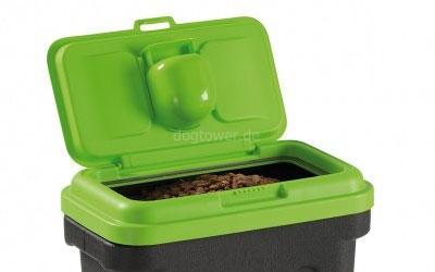 Futterbehälter Maelson Dry Box, grün/schwarz