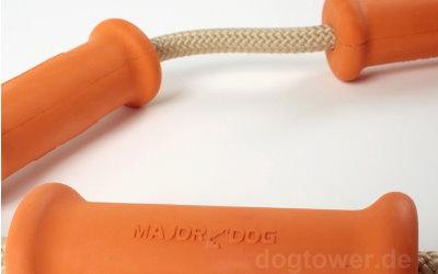 Stabiles Vollgummi/Kordel Hundespielzeug
