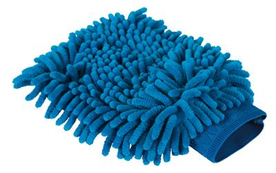 Microfaser Handschuh für Pfoten & Co, blau
