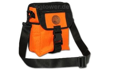Orange/schwarze Dummytasche Deluxe