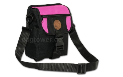 Dummy Tasche Deluxe Mini, schwarz/pink