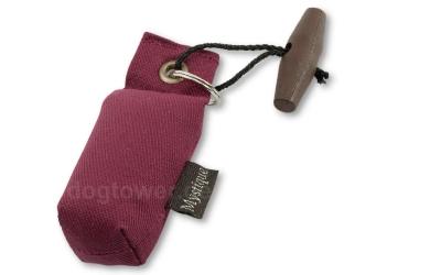 Schlüsselanhänger, weinrot