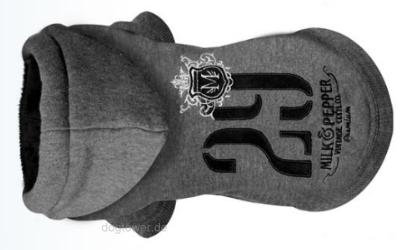 Hundepullover Hoody 29, grau