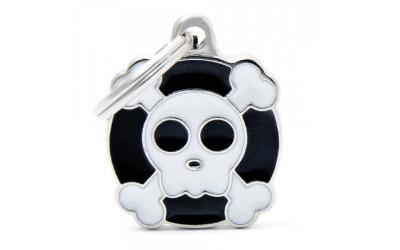 myfamily Adressanhänger Charming Skull