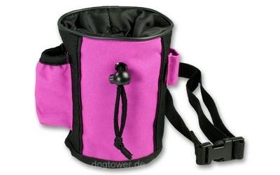Belohnungsbeutel, schwarz/pink