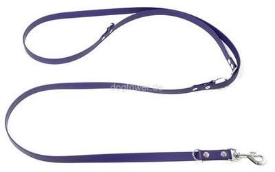 Mystique Biothane Führleine, violett