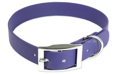 Mystique Halsband Biothane Deluxe, violett