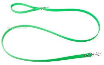 Kurzführer 1,2m mit Handschlaufe, neon-grün