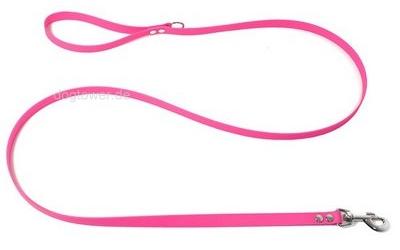Kurzführer 1,2m mit Handschlaufe, neon-pink