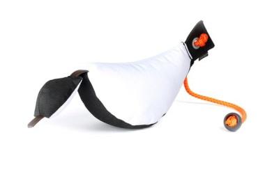 Mystique Bird Dog Dummy Trainer weiß/schwarz