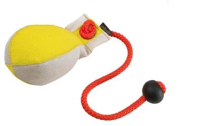 Dummy Ball Marking 300g gelb/weiß