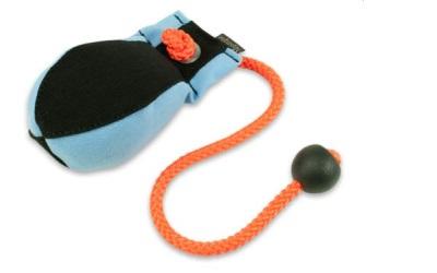 Dummy Ball Marking 300g hellblau/schwarz
