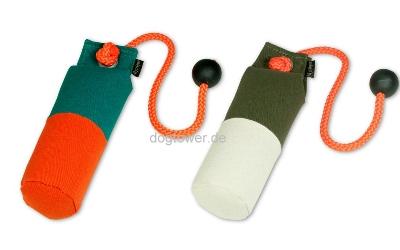 Dummy Long Throw Orange-Grün, Weiss-Khaki