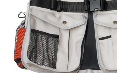 Zwei große Taschen auf der Vorderseite (beige)