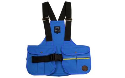 Mystique Dummyweste Trainer mit Kunststoffschnalle, blau