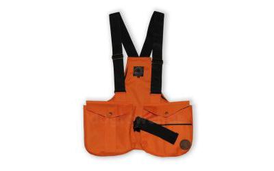 Mystique Dummyweste Trainer mit Metallverschluss, orange