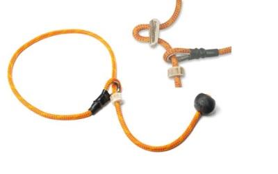 Mystique® Field Trial Kurzführer mit Zugbegrenzung, orange/rot