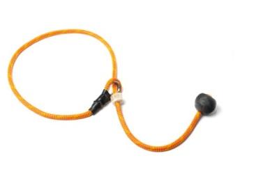 Mystique® Field Trial Kurzführer ohne Zugbegrenzung, orange/rot
