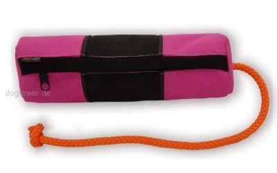 Futterdummy schwarz/pink