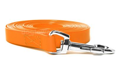 Mystique Schleppleine Biothane Gold orange