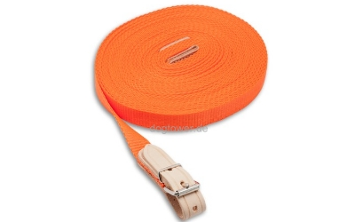 Schweißriemen Nylon-Hundeleine, orange