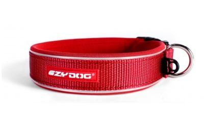 Neopren- Halsband von Ezydog, rot