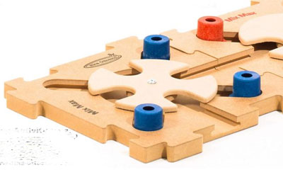 Nina Ottosson Intelligenzspielzeug Mix Max Puzzle, Stufe B