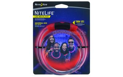 Nite Ize LED NiteLife Leuchtring, rot