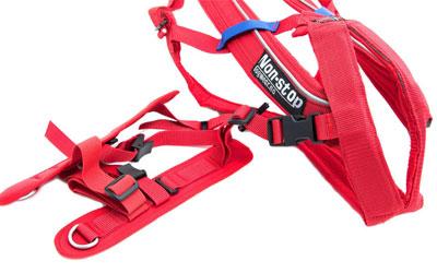 Hochwertiges Hundegeschirr, eignet sich für Skijöring und Pulka
