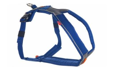 Non Stop Dogwear Line Harness Hundegeschirr, blau