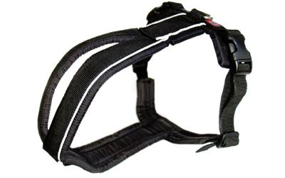 Non Stop Half Line Harness (Führgeschirr), schwarz