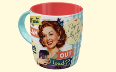 Nostalgic Art Tasse Did I just roll my eyes out loud