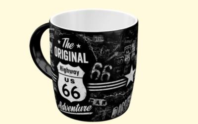 Nostalgic Art Tasse Highway 66 The Original Adventure