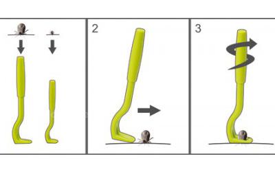 Praktisches 2er Set für kleine und große Zecken