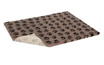 Original Vetbed Premium Hundedecke, mink with black paws