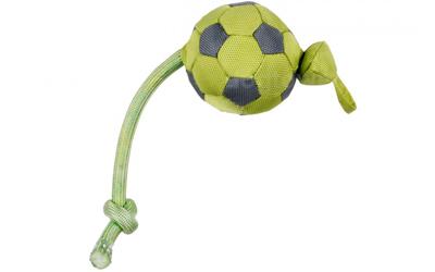 Outdoordog Flying Soccer Hundeball, grün
