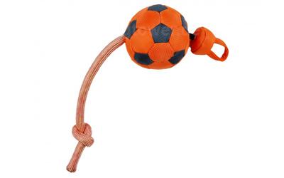 Outdoordog Flying Soccer Hundeball, orange