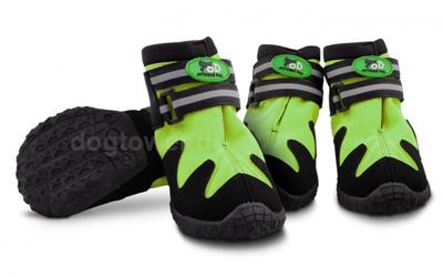 Outdoordog Hundeschuhe All Road Boots, grün
