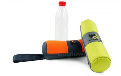 OutdoorDog Hundespielzeug Ballistic Crakler mit PET Flasche