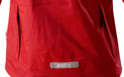 Große Rückentasche für extra Stauraum