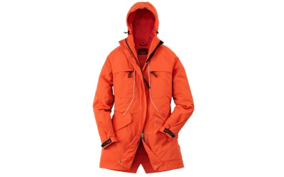 Owney Damen Parka Tuvaq, orange