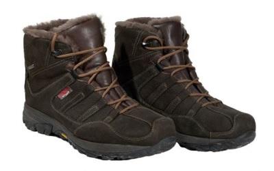 Owney Grassland Winter gefütterter Outdoor-Stiefel aus Nubukleder, dark brown
