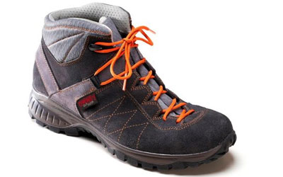 Owney Outdoorschuh Balto high, anthracite-orange