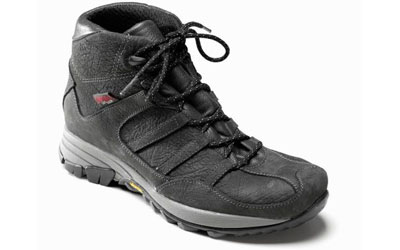 Owney Outdoorschuh Grassland made in Europe, anthracite